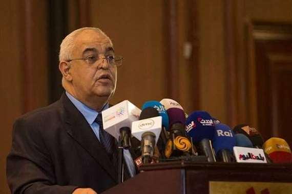 الدكتور نصر الدين علام، وزير الموارد المائية والري الأسبق