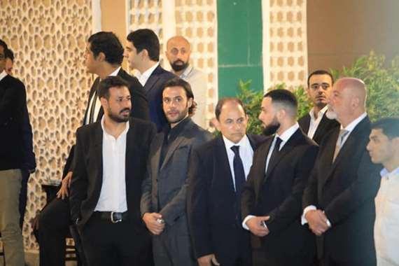 حضور حاشد لنجوم الفن بعزاء هيثم أحمد زكي