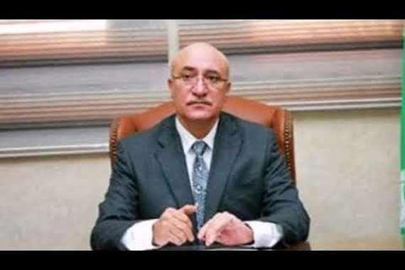سمير حلبية رئيس النادى المصرى