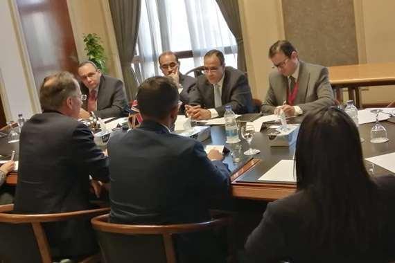 بدر عبد العاطي يلتقى رئيس الوحدة المشتركة لشمال أفريقيا