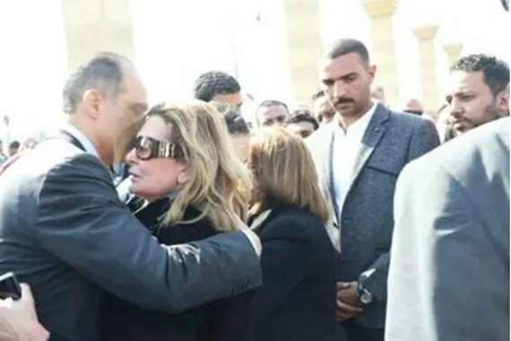 يسرا تعزي جمال مبارك