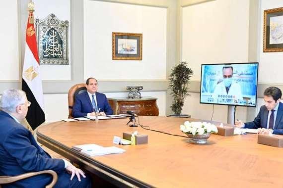 توجيهات جدية.. ملخص اجتماع السيسي اليوم بعدد من الوزراء