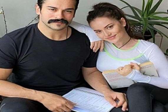 فهرية افجين وزوجها بطل المؤسس عثمان