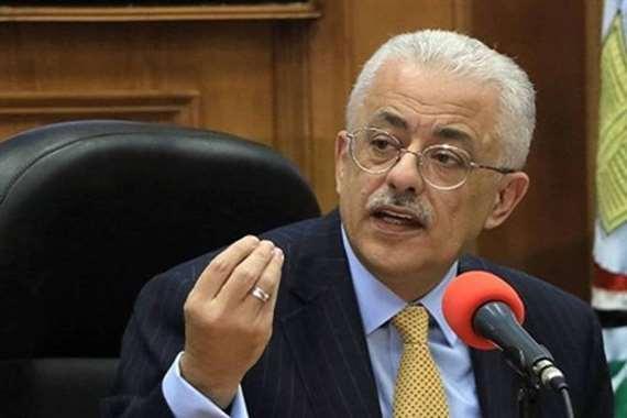 وزير التعليم يكشف موعد الإعلان عن خطة العام الدراسي الجديد