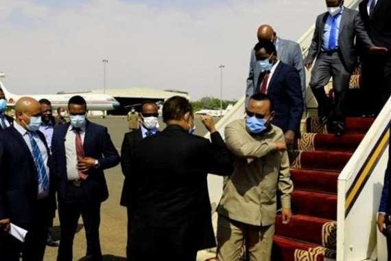 رئيس وزراء إثيوبيا يصل السودان