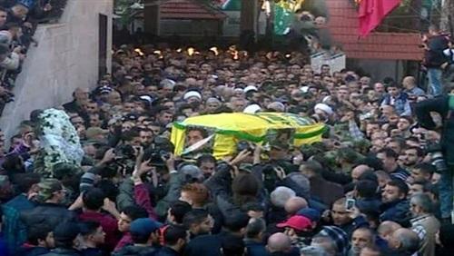 """حزب الله يشيع """"القنطار"""" في ضاحية بيروت الجنوبية"""