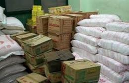 ضبط 49 طن سلع تموينية مدعمة قبل بيعها فى السوق السوداء بأسيوط