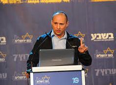 نفتالي بينيت: المسدس مصوب نحو رأس إسرائيل
