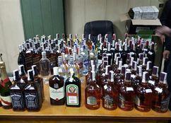 ضبط 3936 زجاجة خمور بالدقهلية