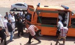 إصابة فلاح أثناء حادث سير بالزقازيق