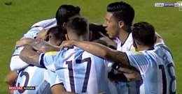 شاهد..  أبرز الصور  في مباراة الارجنتين والإكوادور