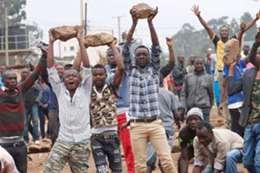 احتجاجات  فى كينيا أرشيفية