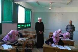 صورة تفقد   وكيل. وزارة الأزهر. لمعهد فتيات الغردقة