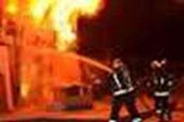 حريق مصنع اسكندرية