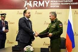 وزير الدفاع الروسي ووزير الدفاع القطري
