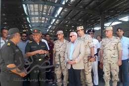 الوزيرى يتفقد أعمال إنشاء 118 مصنع لشباب بورسعيد