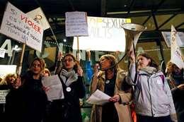 مظاهرات ضد  بولانسكى