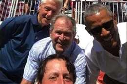 كلينتون و اوباما و بوش