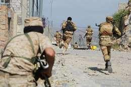 معارك مع الجيش اليمني في تعز