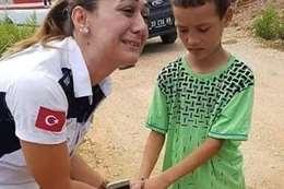 صحفي تركي يكشف صورة ملفقة لطفل سوري ..تعرف عليها؟