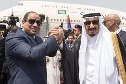 الرئيس السيسي والملك سلمان
