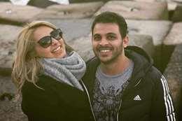 محمد رشاد و مي حلمي