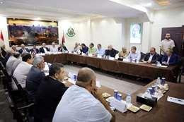 وفد من المخابرات المصرية يجتمع بقادة فصائل غزة
