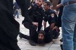 الراهب المحتجز بإسرائيل