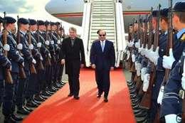 استقبال الرئيس السيسي في ألمانيا