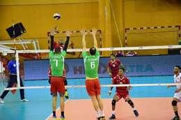 عمان تهزم الجزائر في البطولة العربية للطائرة