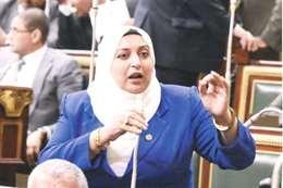 النائبة الدكتورة سحر عتمان، عضو مجلس النواب عن دائرة مشتول السوق بمحافظة الشرقية