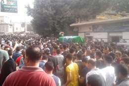 جنازة طالب المنوفية