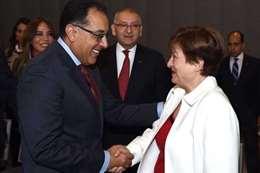 مدبولي يلتقي مدير صندوق النقد الدولي