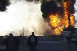 انفجارات الحشد الشعبي