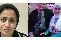 رحاب فتحي و زوجها