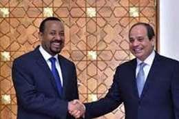 الرئيس السيسي و رئيس الوزراء الأثيوبي