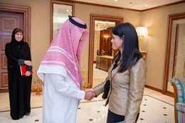 المشاط  و رئيس الهيئة العامة للسياحة والتراث الوطني بالمملكة العربية السعودية