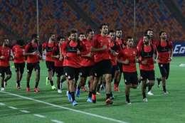 جانب من تدريب منتخب مصر