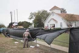 كنيسة تكساس موقع الهجوم