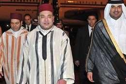 محمد السادس وتميم