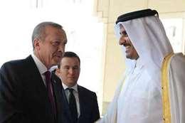 """""""أردوغان"""" يصل قطر في زيارة رسمية"""