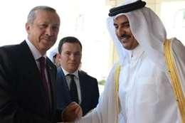 أردوغان و امير قطر