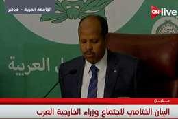 البيان الختامى لجامعة الدول العربية