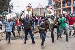مظاهرات فى كينيا ارشيفية