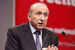 وزير الداخلية الفرنسية  جيرار كولومب