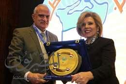 جامعة طنطا تكرم السفيرة مشيرة خطاب