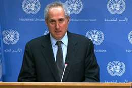 المتحدث باسم الأمين العام للأمم المتحدة