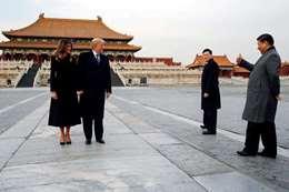 شي جين بينغ ودونالد ترامب