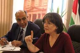 وزيرة السياحة الأردنية لينا عناب