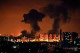 قصف غزة (أرشيفية)